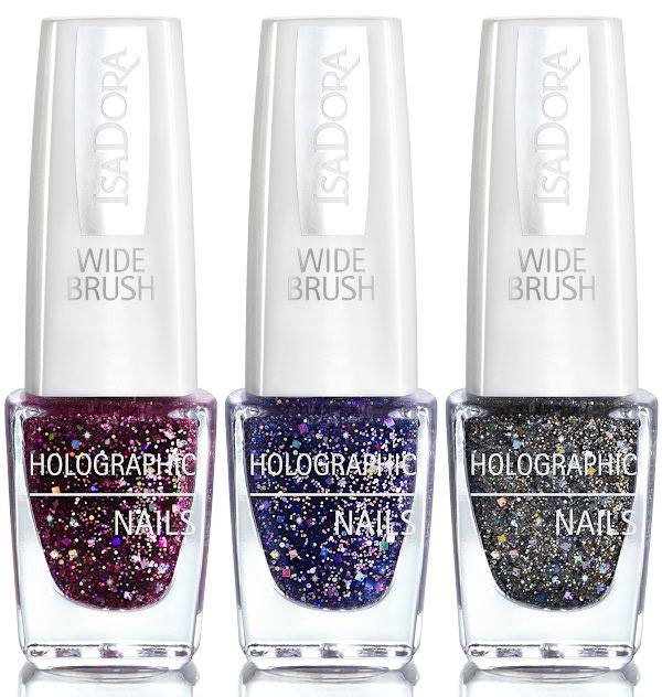 IsaDora Holographic Glitter Nails Holiday 2016 - Beauty Trends and ...