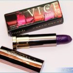 Urban Decay Pandemonium Vice Lipstick Review, Swatches, Photos