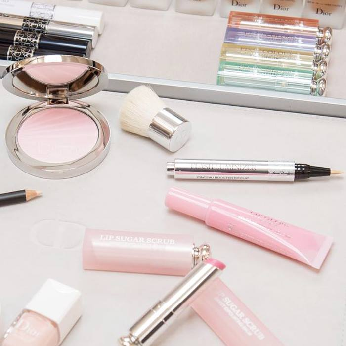 dior spring summer 2017 makeup collection first look beauty trends and latest makeup. Black Bedroom Furniture Sets. Home Design Ideas