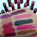 MAC Liptensity Swatches, Photos