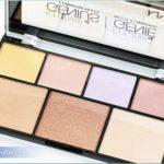 NYX Strobe of Genius Palette Review, Swatches, Photos