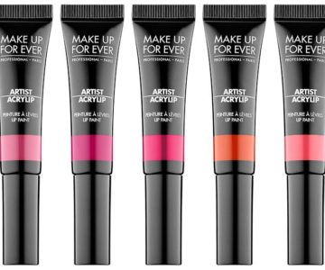 Make Up For Ever Spring 2017 Artistic Acrylip