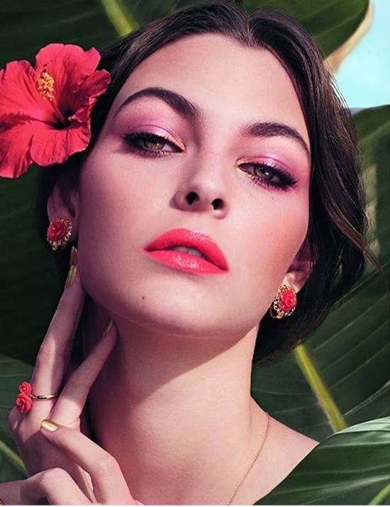 Dolce-Gabbana-Spring-2017-Tropical-Spring-Makeup