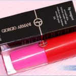Giorgio Armani Eccentrico Lip Magnet Review, Swatches, Photos