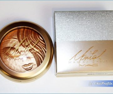 MAC Mariah Carey My Mini Extra Dimension Skinfinish Review, Swatches, Photos