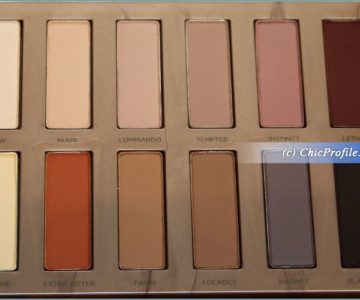 Urban Decay Naked Ultimate Basics Eyeshadow Palette Review, Swatches, Photos