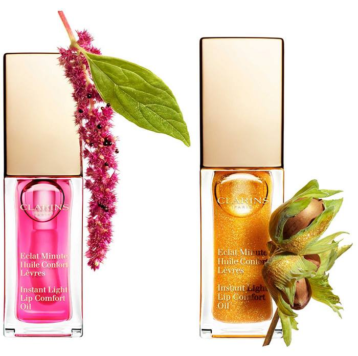 Clarins 2017 New Instant Light Lip Comfort Oil Beauty