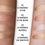Lancome Click & Glow Highlighting Skin Fluid Swatches