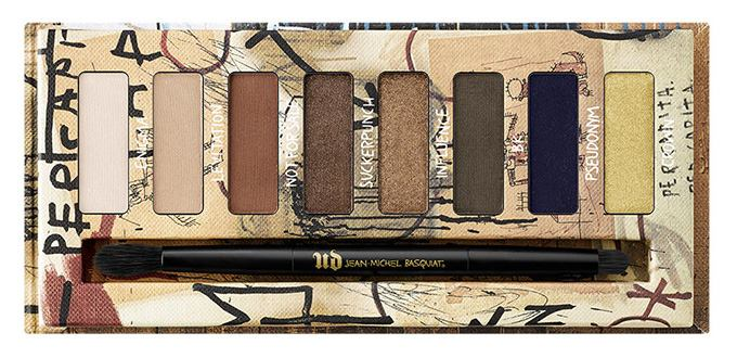 Urban Decay Summer 2017 Jean Michel Basquiat Collection