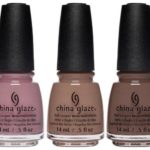 China Glaze Spring 2017 Shades of Nude Collection