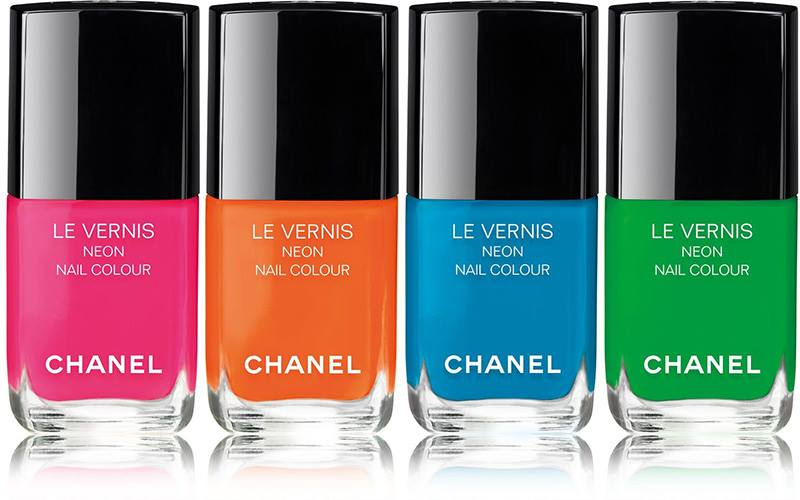 Chanel Neon Wave Summer 2017 Collection Beauty Trends