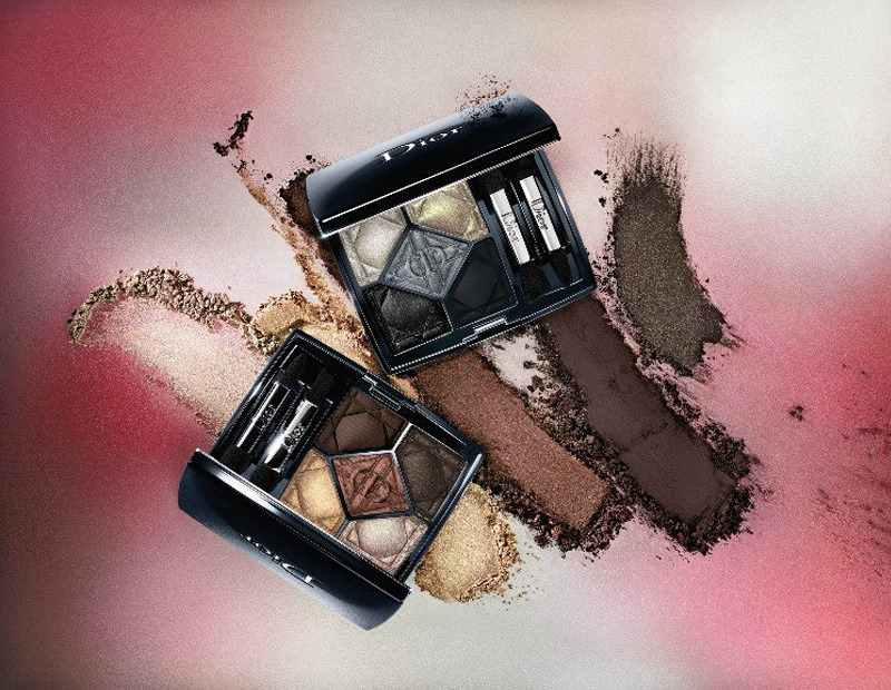 dior metallics fall 2017 collection beauty trends and