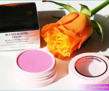 Lancome Bonjour Bonheur & Je M'Appelle Rose Blush Subtil Creme Review, Swatches, Photos