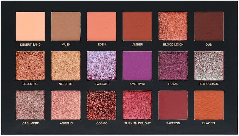 Huda Beauty Desert Dusk Eyeshadow Palette - Beauty Trends ...
