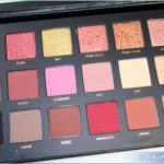 Huda Beauty Rose Gold Textured Shadows Palette Review, Swatches, Photos