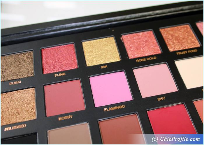 Huda Beauty Rose Gold Palette Review 4 Beauty Trends And Latest