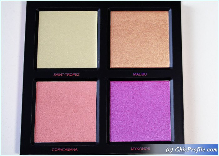 huda beauty solstice summer highlighter palette review