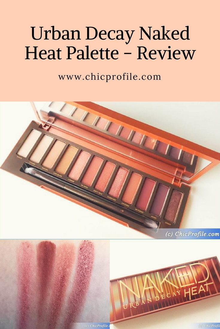 Urban Decay Naked Heat Palette Review + Swatches
