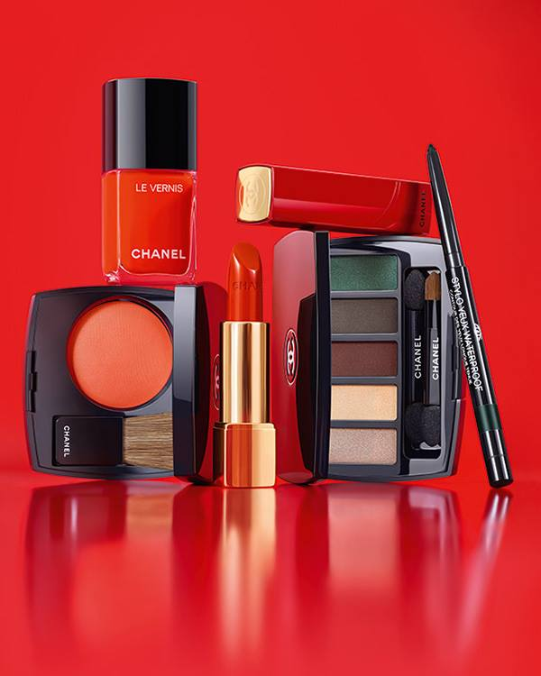 Chanel Libre Numeros Rouge Holiday 2017 Collection ...
