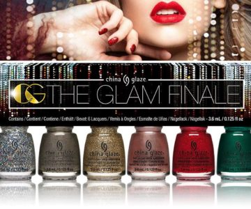 China Glaze The Glam Finale Holiday 2017 Collection