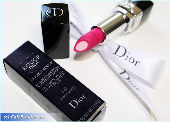 cac5d2f2 Dior Spicy Sweet Double Rouge Review, Swatches, Photos - Beauty ...