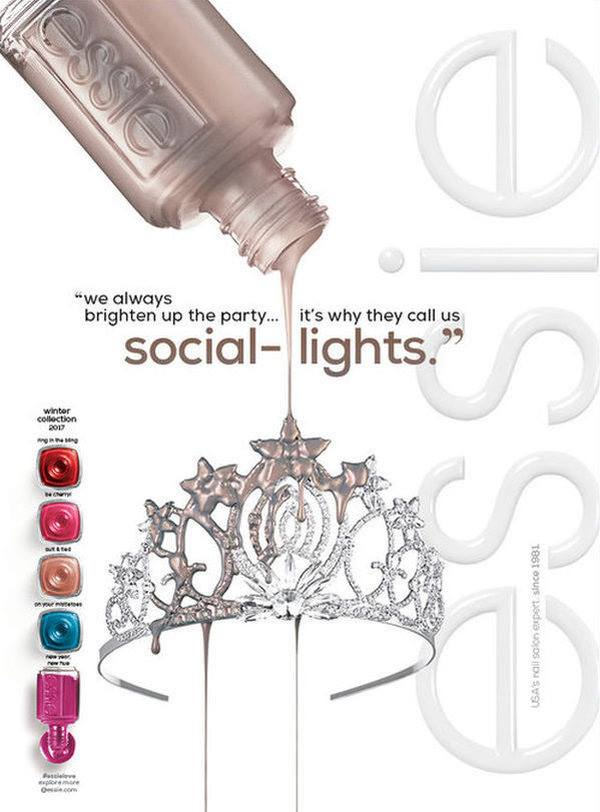 Essie Social Lights Fall Winter 2017 Collection Beauty Trends And Latest Makeup Collections