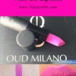 Oud Milano Impressive Matt 215 Lipstick Review, Swatches, Photos