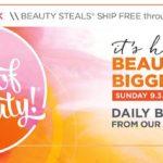 ULTA 5 September 2017 Days of Beauty 50% OFF