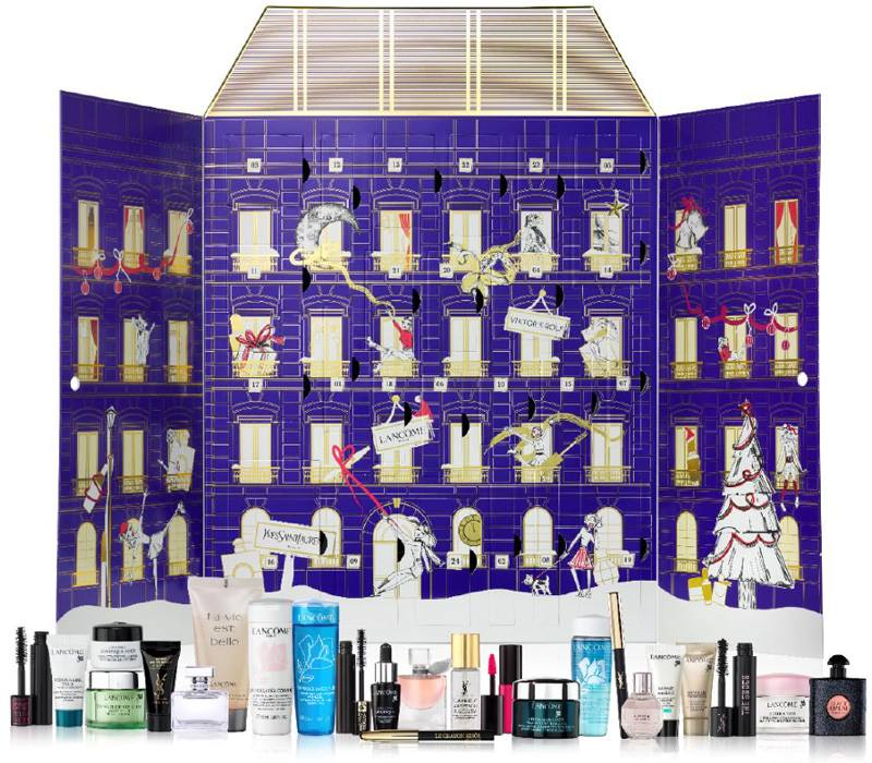 lancome holiday 2017 advent calendars for selfridges and. Black Bedroom Furniture Sets. Home Design Ideas