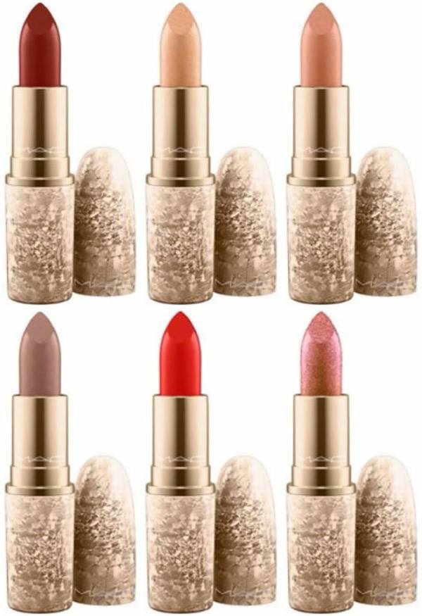 Mac Cosmetic Lipstick Fresh Brew 100 Authentic: MAC Snow Ball Holiday 2017 Color Collection