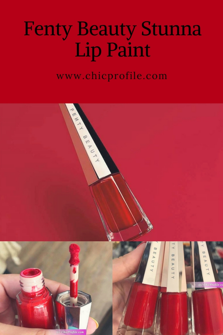 Fenty Beauty Stunna Lip Paint Review Swatches 1 Beauty Trends And Latest Makeup Collections Chic Profile