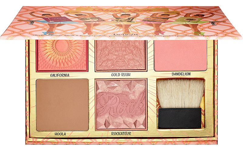 Benefit Blush Bar Cheek Palette Swatches Beauty Trends