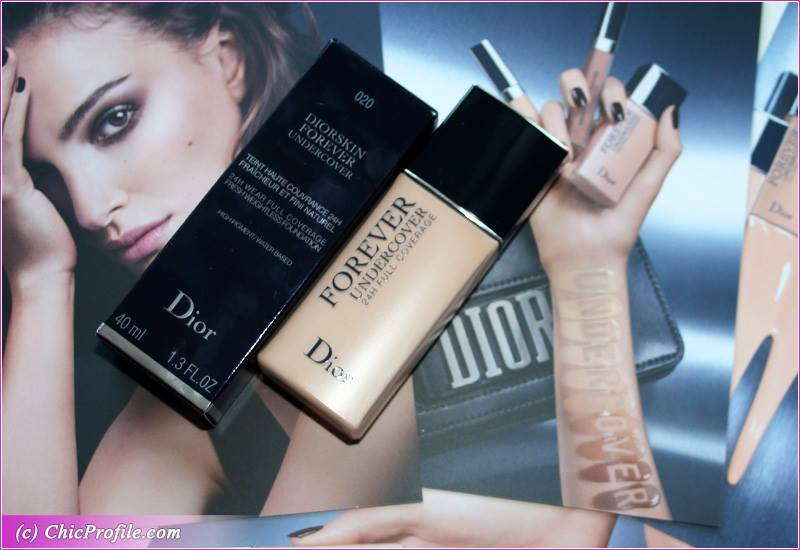 87ca7b1ac1 Dior Diorskin Forever Undercover Foundation Review, Swatches, Photos ...