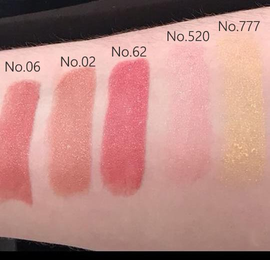 Guerlain New Rouge G Lipstick 2018 Swatches
