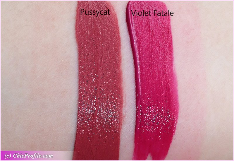 Tom Ford Pussycat Violet Fatale Lip Lacquer Liquid Matte Review Swatches Photos Beauty