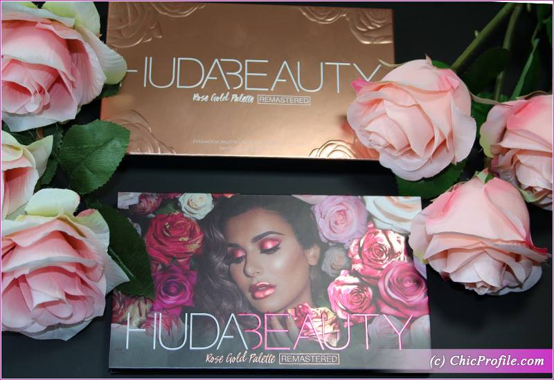 Huda Beauty Rose Gold Remastered Palette Swatches Beauty Trends