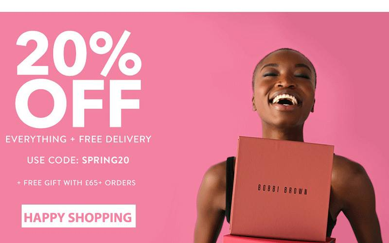 Bobbi Brown 20 Off Free Delivery