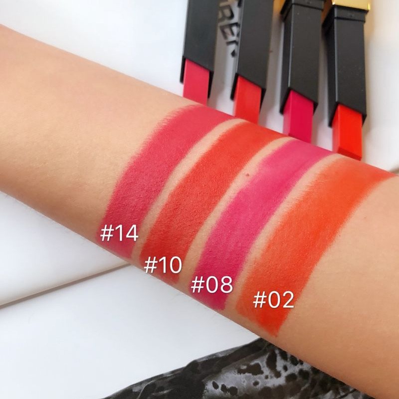 Ysl Rouge Pur Couture The Slim Matte Lipstick Swatches