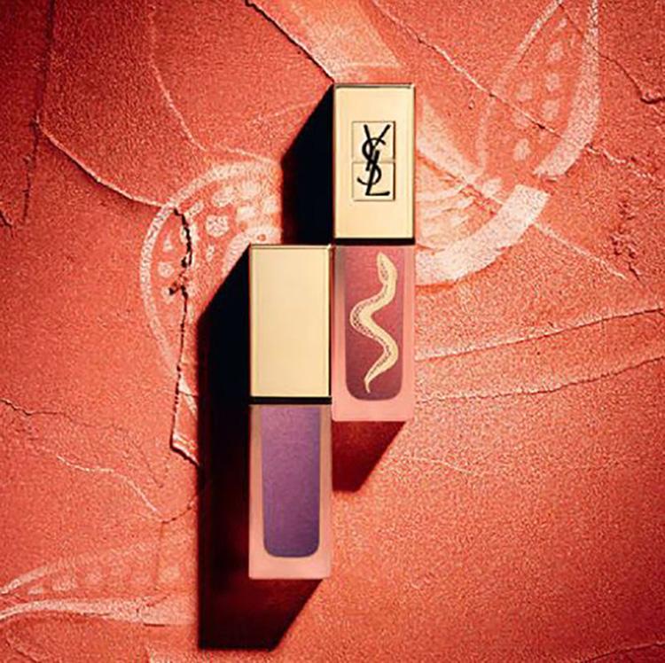 Ysl Tatouage Couture Metallics Liquid Matte Lip Stain