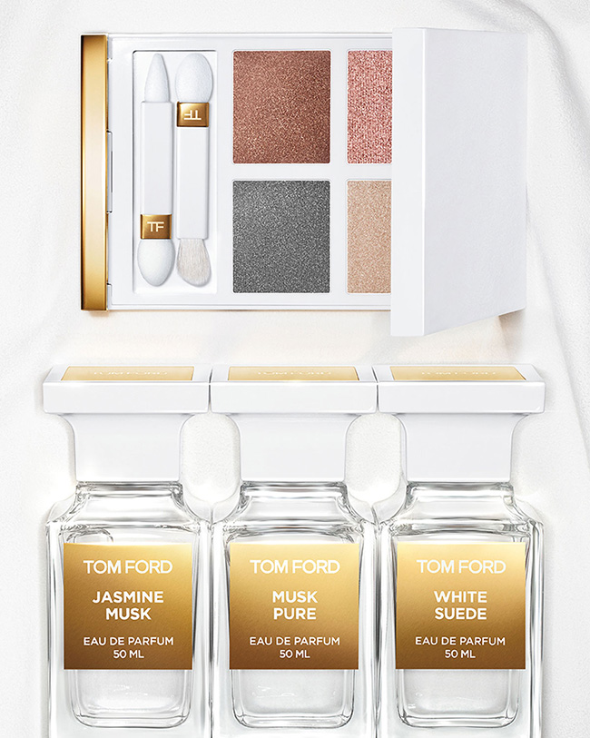 Tom Ford White Suede Eye Quad Spring 2019 Beauty Trends