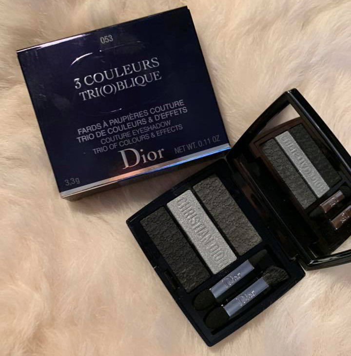 Dior 3 Couleurs Trioblique Palettes 2019 Support Chicprofile On