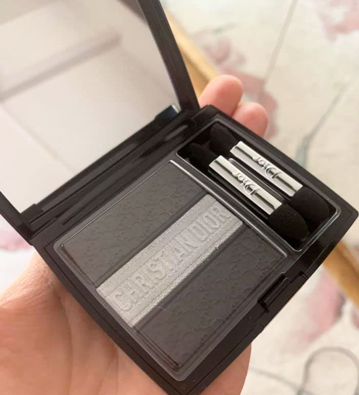 Dior 3 Couleurs Trioblique Eyeshadow Palette 2019 Review 2 Beauty
