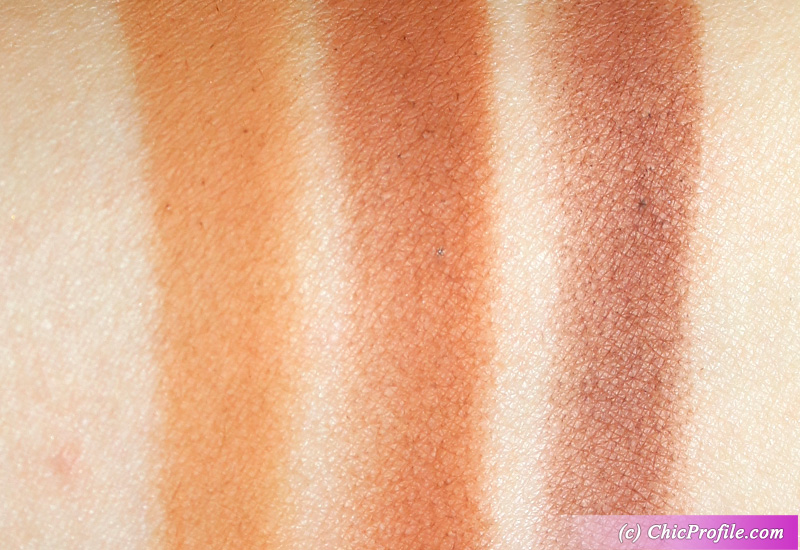 Charlotte Tilbury Pillow Talk Instant Eye Palette Date Swatches