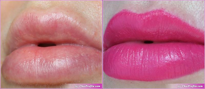 SUQQU Vibrant Rich Lipstick 106 Hanatsumi Lip Swatches