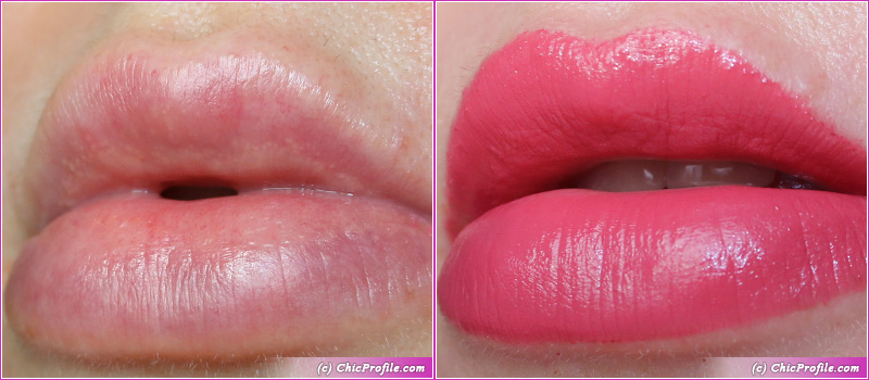 Ted Baker Spicey Satin Lipstick Lip Swatches