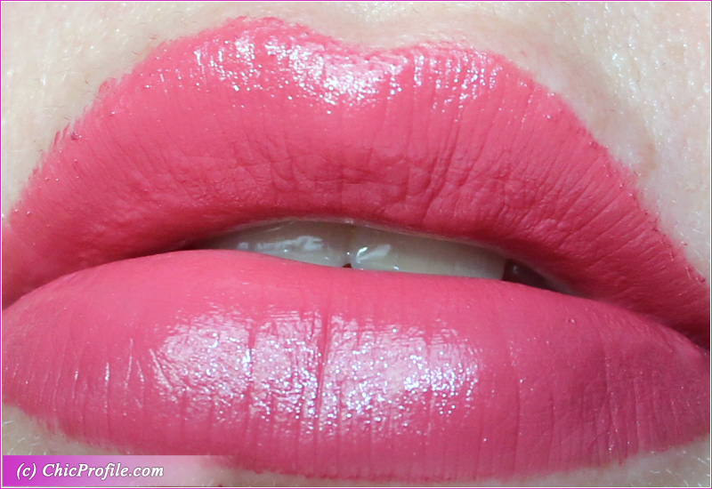 Ted Baker Spicey Satin Lipstick Lip Swatch