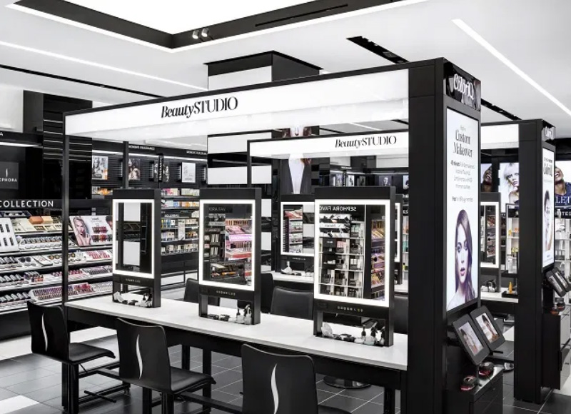 Beauty Store Counter