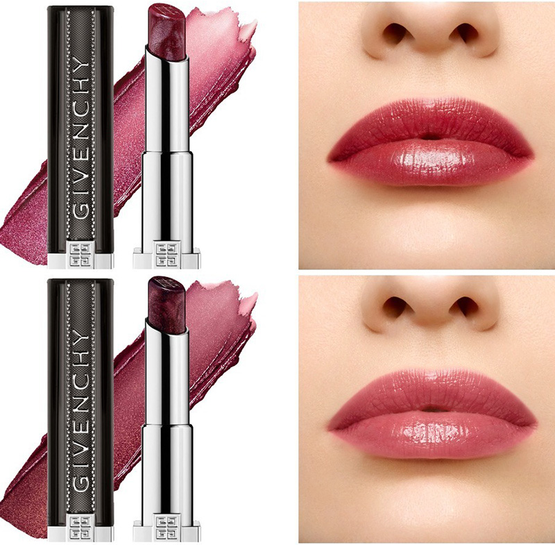 Givenchy L'Interdit lipsticks Lip Swatches