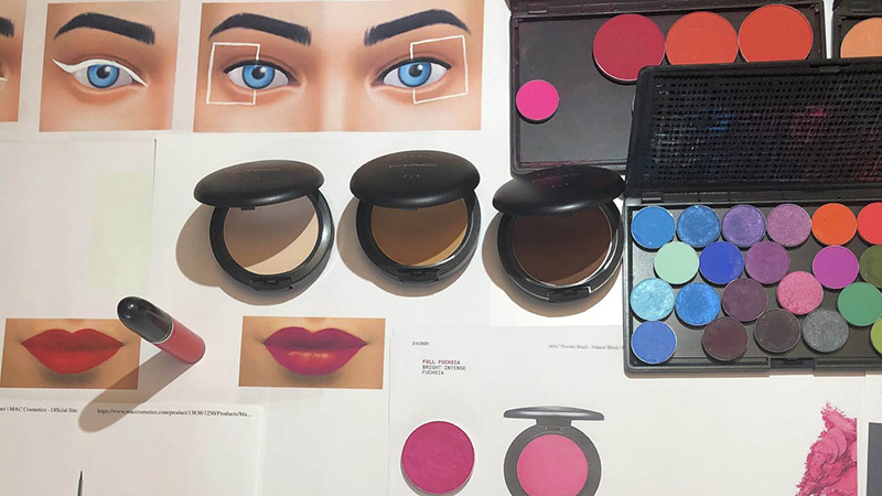 MAC Cosmetics The Sims 4 Collection