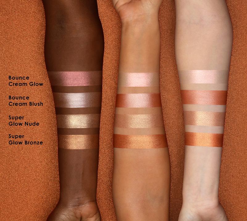 Natasha Denona Bronze Cheek Face Glow Palette Swatches